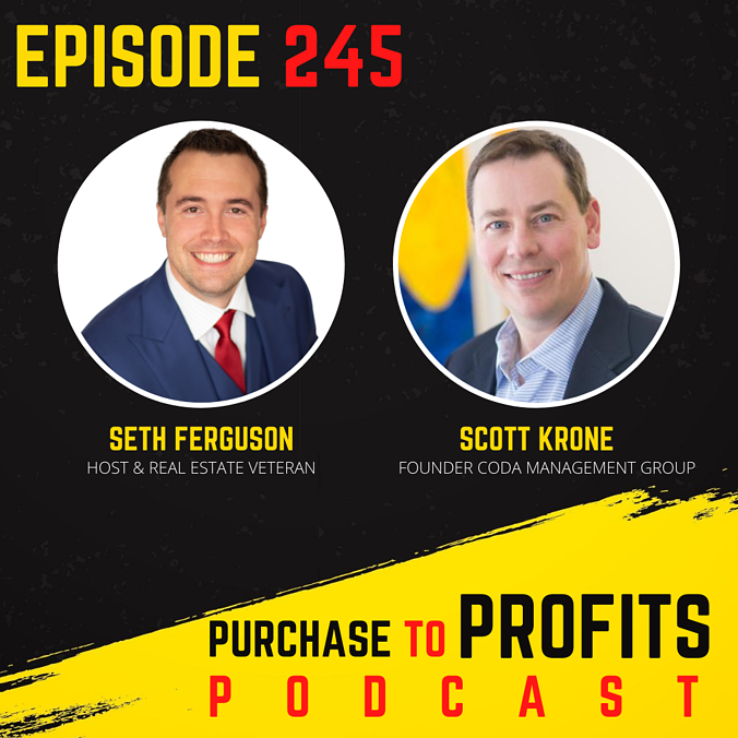 Purchase to Profits - Real Estate Investing Podcast Seth Ferguson